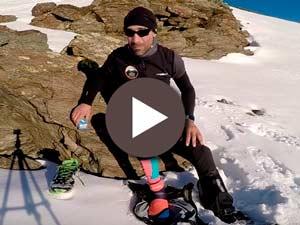 Cómo tratar un esguince de tobillo en una carrera de montaña