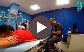 Tratamiento distensión muscular del gemelo a José del Campo