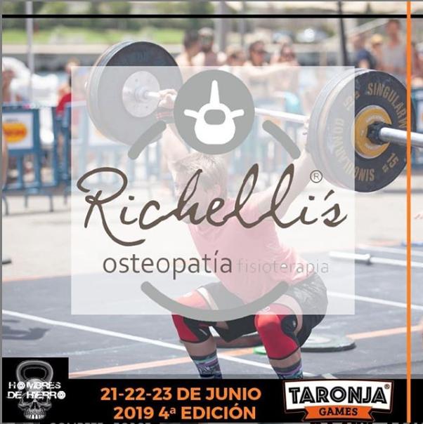 Clínica Richelli's empresa colaboradora de los Taronja Games 2019
